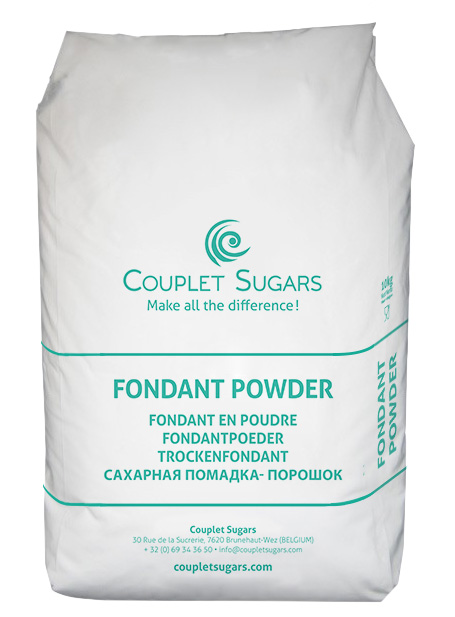 Fondant powder bag
