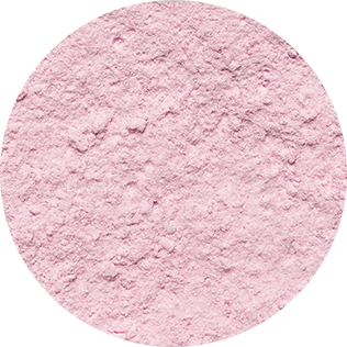 pink decosnow sugar close-up