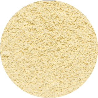 yellow decosnow sugar close-up