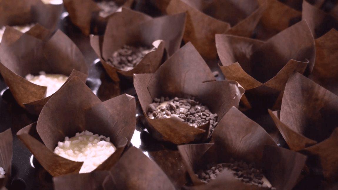 muffins sucre perlé, muffins pearl sugar