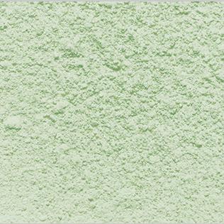 green decosnow sugar close-up