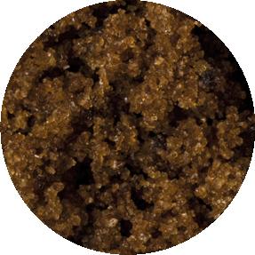 Dark Muscovado cane sugar