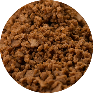 crumble cocoa, crumble de cacao, Cacaokruimel,Крошки какао, Kakaokrümel